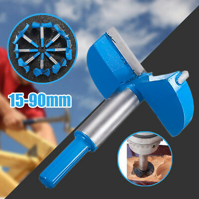 Forstner Woodwaorking Boring Wood Hole Saw Cutter Drill Bit Tool Hard Alloy