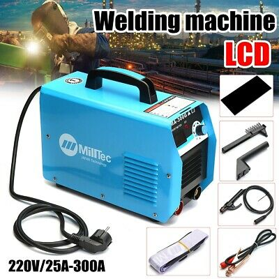 300AMP Welding Inverter Machine MMA ARC Portable LCD Welder IGBT MMA-300