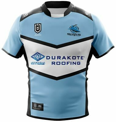 Cronulla Sharks 2019 Home Jersey Mens, Womens, Juniors & Toddlers NRL XBlades