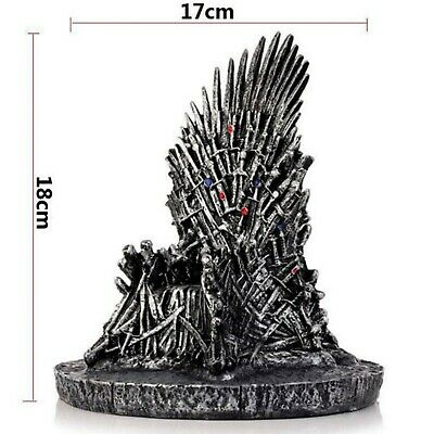 GAME OF THRONES The Iron Throne Figure Toys Sword Chair Desk 7''/12'' display