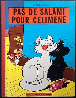 Chlorophyll not Salami for Célimène Eo 1957 with dot Tintin Very Good Condition