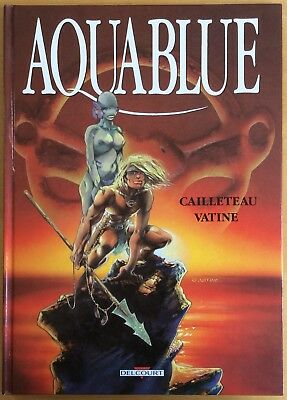 Aquablue Tome 1 Filming Smooth Eo 1988 Very Good Condition