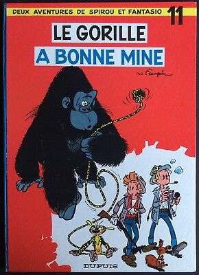 Spirou and Fantasio Tome 11 the Gorilla a Good Mine Reed. 1967 near Mint (NM)
