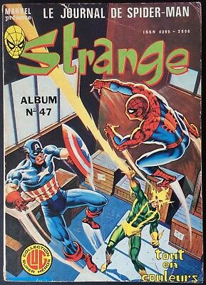 Strange Editions Lug Album N°47 (140 141 142) 1981 with the Poster Very Good