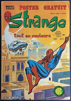 Strange Editions Lug N°130 from 5 Octobre 1980 Very Good Condition with to Be