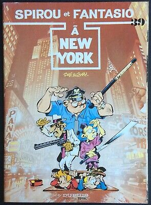 Spirou and Fantasio to New York Tome 39 Offered by Total 1988 Condition Correct