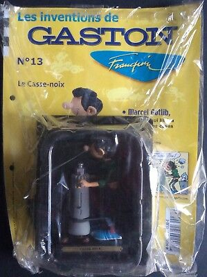 The Inventions of Gaston No. 13 Nutcracker Hachette New in Blister-packaged Form
