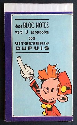 Since Spirou Notepad 30 Pages x 15 9 cm 1965 Very Good Condition