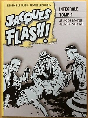 Jacques Flash! Integral Tome 2 by Lecureux Ed. Taupinambour 2008 Mint