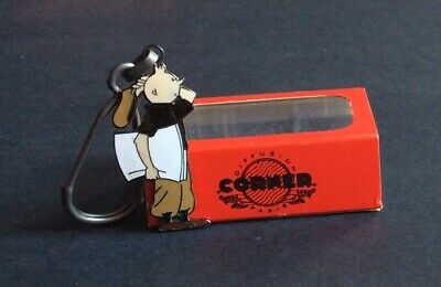 Tintin Keyring Corner Ref. 626 with Box and Case Very Good Condition