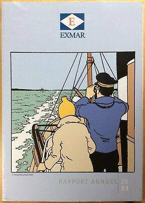 Rare! Tintin Clymer's Annual 2003 Society Exmar Very Good Condition
