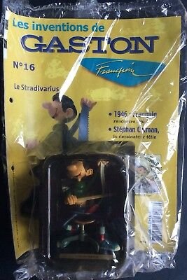 The Inventions of Gaston N°16 Stradivarius Hachette New in Blister-packaged Form
