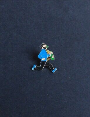 Tintin Pin Lapel Haddock Current with Bottle Very Good Condition