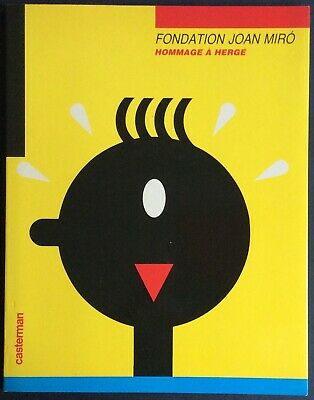 Tribute to Herge Catalogue the Foundation Joan Miró + Poster near Mint (NM)