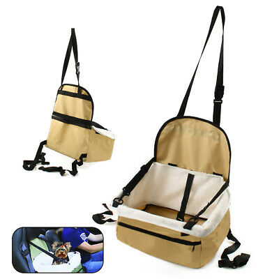 Pet Booster Seat Car Carrier Blanket Dog Cat Puppy Travel Bag Safety Protector