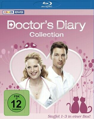 Doctor's Diary Collection - Staffel 1-3 in einer Box (4 Discs) [4x Blu-ray Disc]