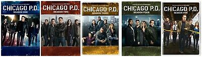 Chicago P.D. PD: Complete Series Seasons 1-5 (DVD, 2018, 27-Discs) 1 2 3 4 5 NEW
