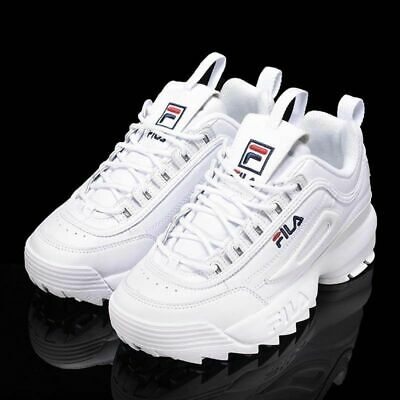 3a061d4a516bed FILA Disruptor White/Black Women's Fashion Athletic Shoes Sneakers EU Size  36-44
