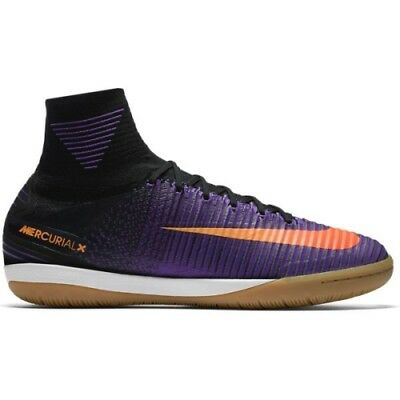 new product 76f51 1ac8d Hommes Nike Mercurialx Proximo II Ic Violet/Noir 831976 085 Taille : UK 9