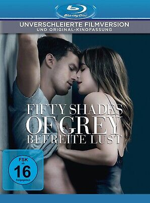 Fifty Shades of Grey - Befreite Lust (Unverschleierte Filmversion) [Blu-ray Disc