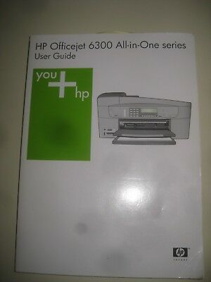HP Officejet 6300 User Manual