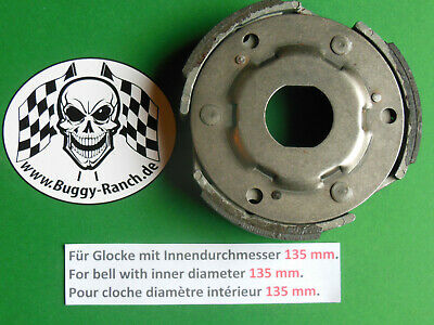 Kupplung Linhai 260, 300. Hytrack 265, 290. Clutch / Embrayage Ø 135mm. Quad ATV