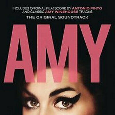 AMY - OST DOCUMENTARY CD - AMY WINEHOUSE - Score by Antonio Pinto CD ALBUM [2015