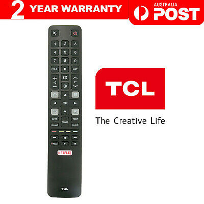 Original TCL TV Remote RC802N ARC802N YUI1 For 65C2US 75C2US 43P20US NETFLIX NEW