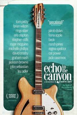 Echo In the Canyon (2019) Beach Boys Beck Jackson Browne Lou Adler Movie Poster