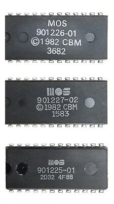 Commodore 325302-01 DOS Rom chip 2364 $C000 for 1541 drives with smaller board.