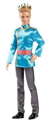 Barbie Fairy tale Prince - Prince Ken Doll, With Gold Crown, Gift wrapped
