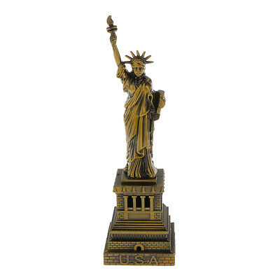 Bronze Color The Statue of Liberty Model Furnishing Article 15 cm Home Decor