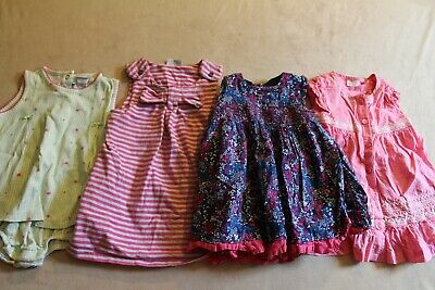 Baby Girls Clothes Bundle Age 6-9 Months Dresses Freepost Kids