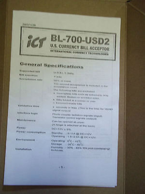 BL 700 ICT USD bill acceptor validator eprom bin file to update to