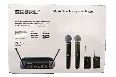 Shure WIRELESS MICROPHONE SYSTEM PGX282