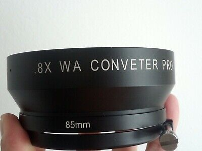 Century Optics WA Converter Pro WA-8XLC Great condition wide angle adapter.