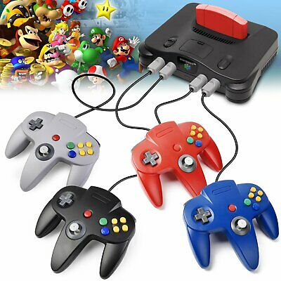 Long Wired Controller Joystick For Nintendo 64 N64 Game System Mario Kart