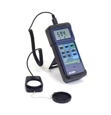 Extech 407026 Foot Candle/Lux Heavy Duty Light Meter