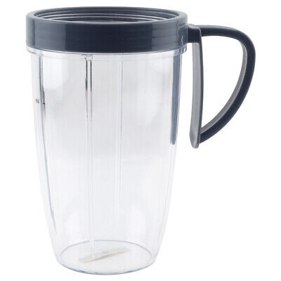 24 oz Tall Cup includes Handled Lip Ring For NutriBullet NB-101B NB-101S NB-201