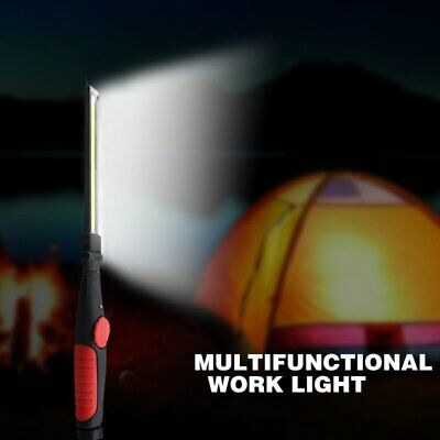 COB Rechargeable Magnetic Torch Flexible Inspection Lamp Cordless Work LED Light
