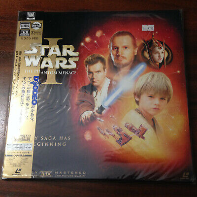 Laserdisc - Star Wars the Phantom Menace PILF-2830 Japan Release