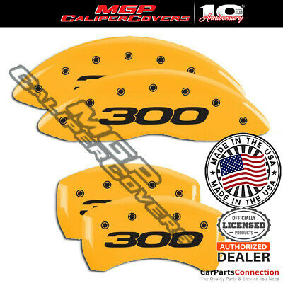 MGP Caliper Covers 300 Engraving For 2011-2018 Chrysler 300 w//BR5-Yellow