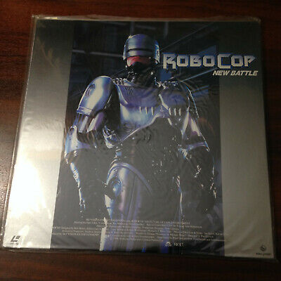 Laserdisc - Robocop New Battle KILF-5091  Japan Release