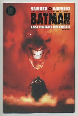 BATMAN: LAST KNIGHT ON EARTH #1 Jock Variant DC comics NM 2019