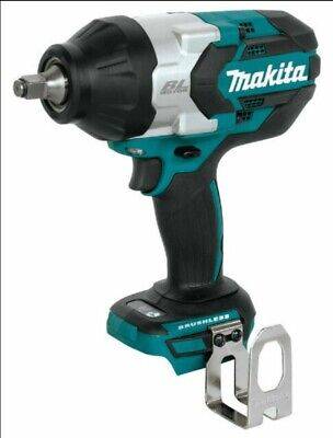 "Makita XWT08Z LXT Lithium-Ion Brushless Cordless 1/2"" Impact Wrench 18V Hog Ring"