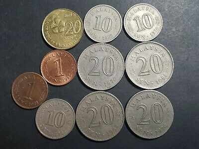 Malaysia, Asia, Coins, Coins | PicClick AU