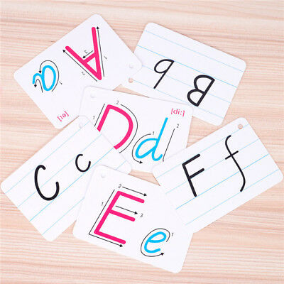 26 LETTER FLASHCARDS Flash Cards Learn ABC Montessori