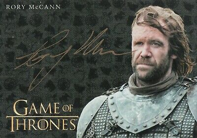 Game of Thrones Inflexions, Rory McCann 'The Hound' Autograph Card