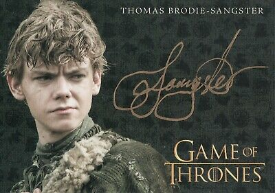 Game of Thrones Inflexions, Thomas Brodie-Sangster 'Jojen Reed' Autograph Card