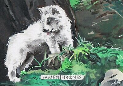 Game of Thrones Inflexions, Artist Sketch Card